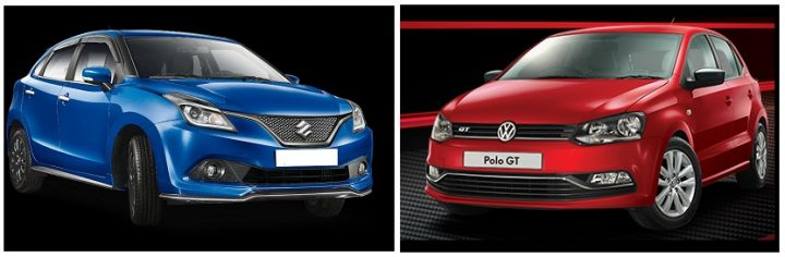 Maruti Baleno RS vs Polo GT