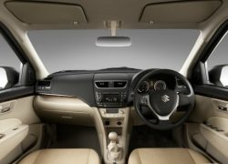 Swift Dzire Interiors