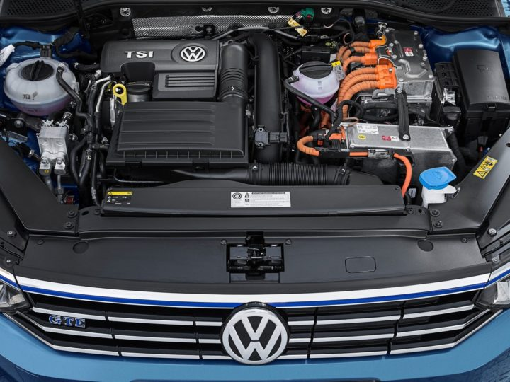 New 2017 Volkswagen Passat Engine