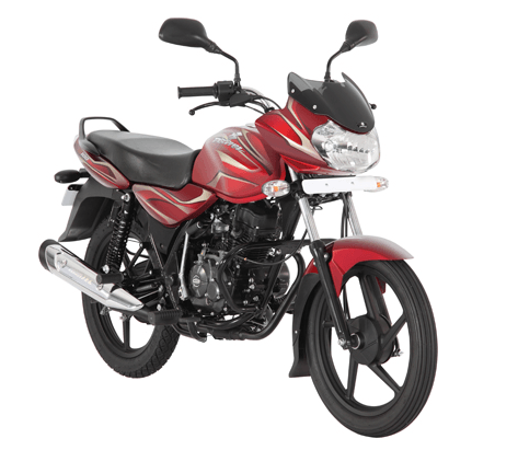 Bajaj-Discover-100-red-bike