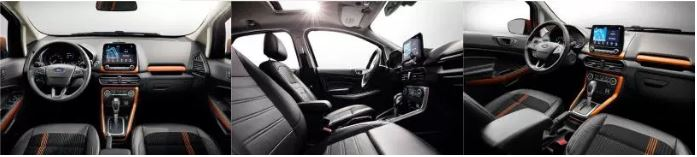 Ford Ecosport Interior Images
