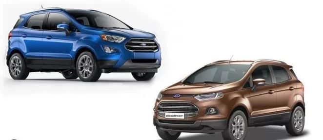 Ford Ecosport Old vs New