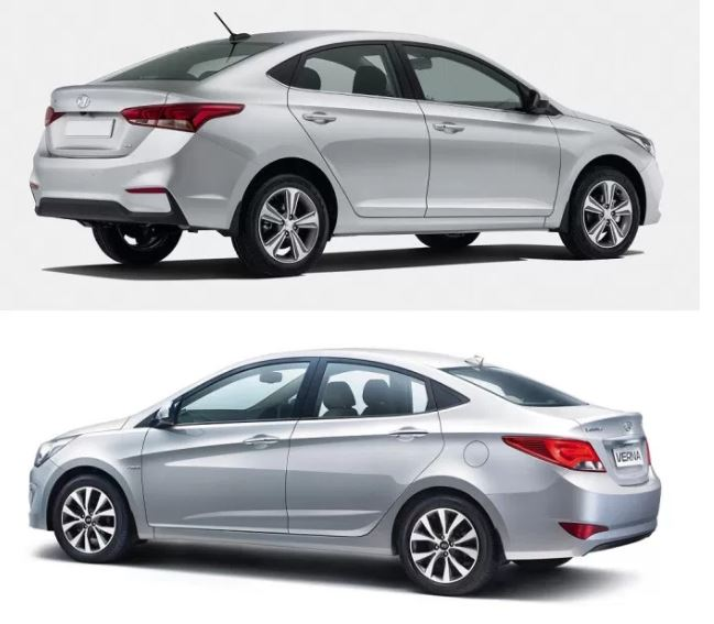 Hyundai Verna New vs Old 2