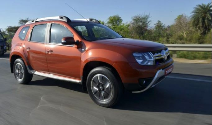 renault duster petrol automatic launched rs lakh. Black Bedroom Furniture Sets. Home Design Ideas