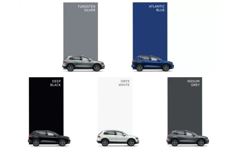 Tiguan Colors
