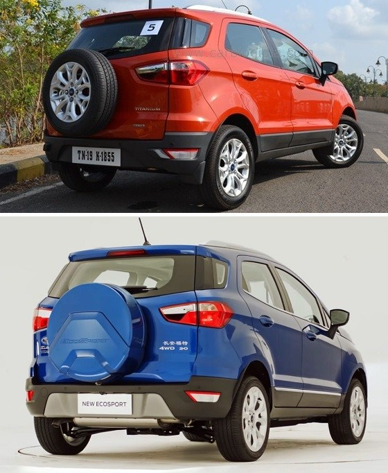 Image Result For Ford Ecosport New Vs Old