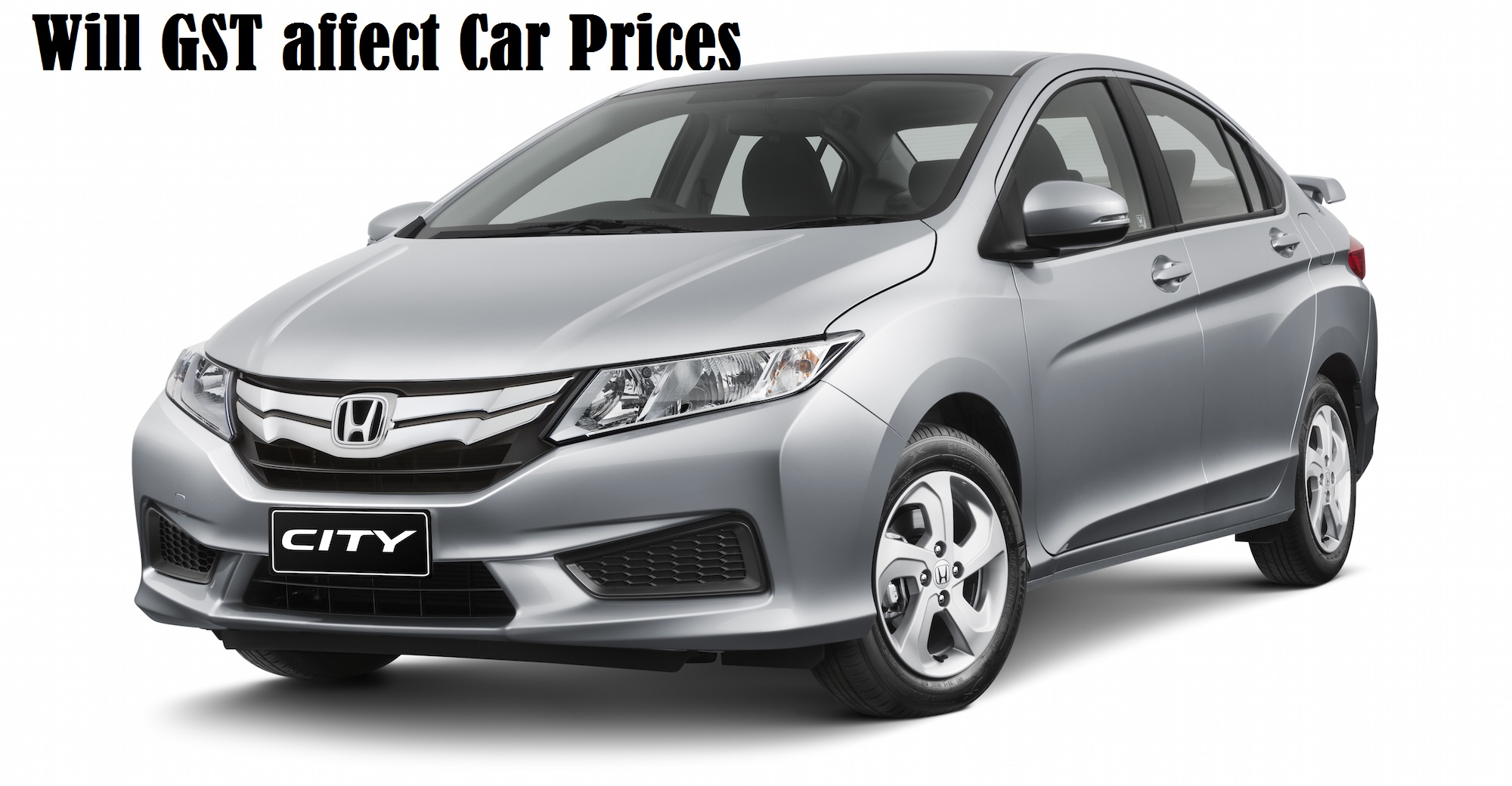 GST Affect on car prices