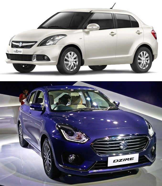 maruti-dzire-old-vs-new-front-angle