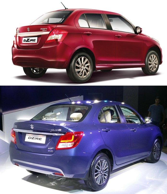 maruti-dzire-old-vs-new-rear