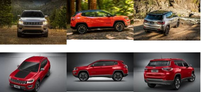 2017 Jeep Compass Official Images