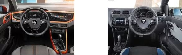 Volkswagen Polo Old vs New Interiors
