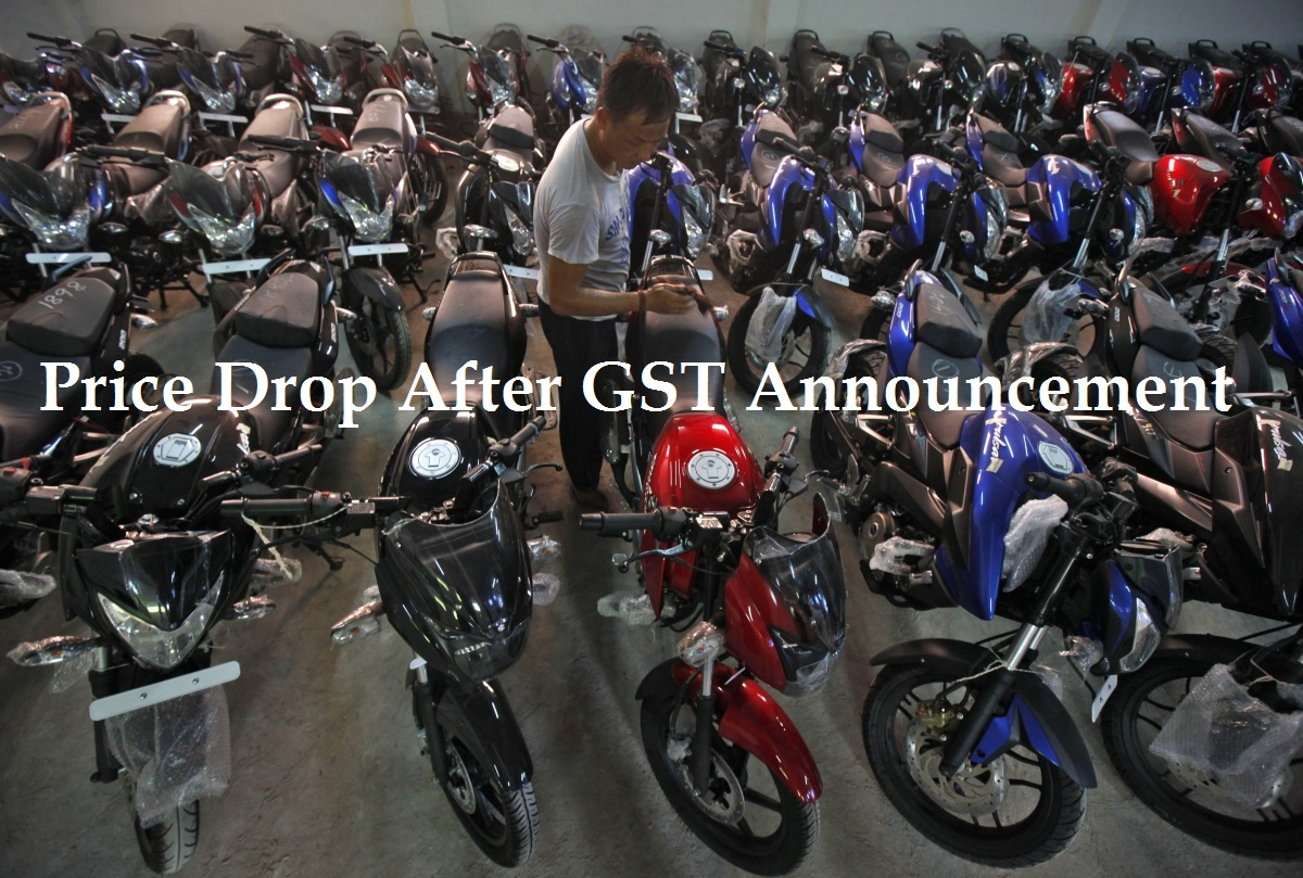 Price Dop After GST Annoucement