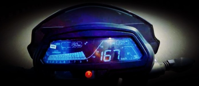 bajaj-dominar-top-speed-speedometer
