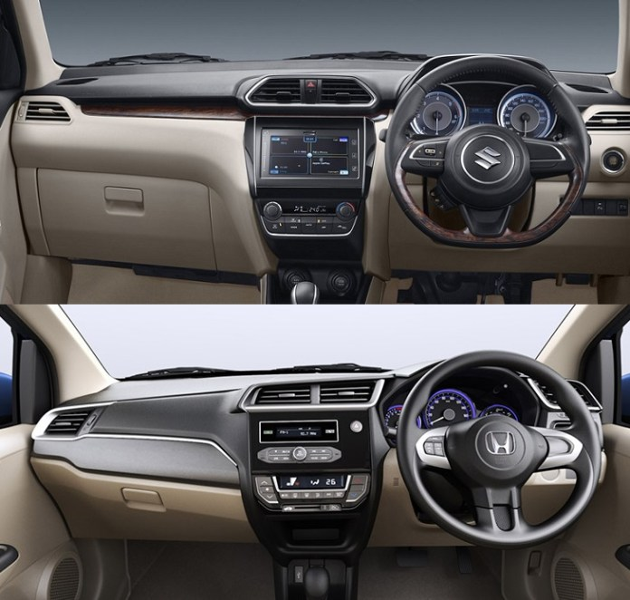 new-2017-maruti-dzire-vs-honda-amaze-comparison-interiors