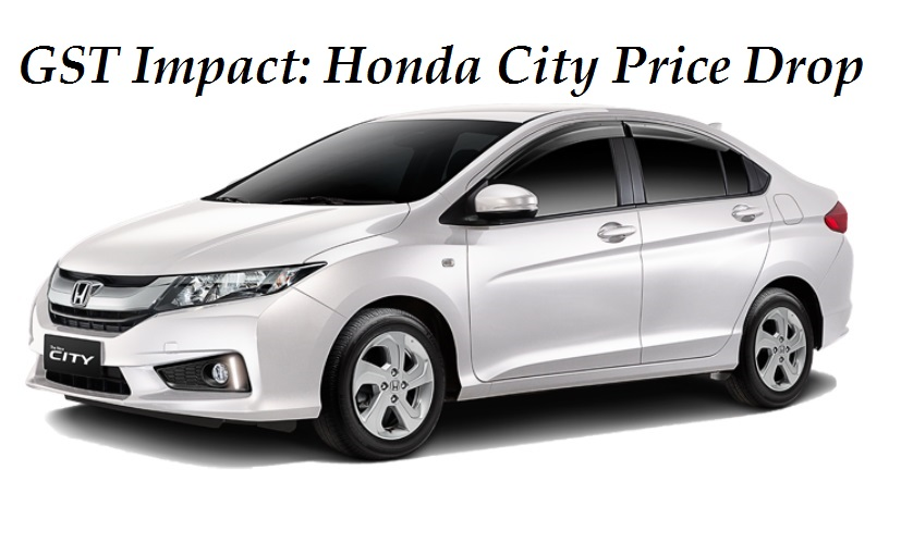 Honda City Price after GST