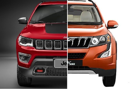 Jeep Compass Vs Mahindra Price Specifications Mileage