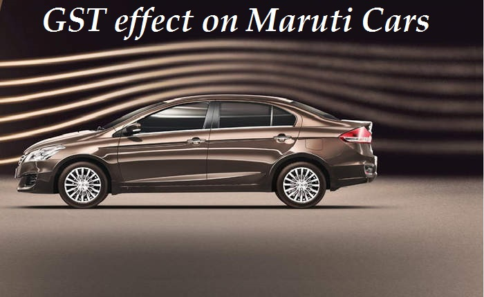 Maruti suzuki car price list after gst