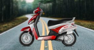 Mahindra-Gusto-RS-Red-Images-Side-