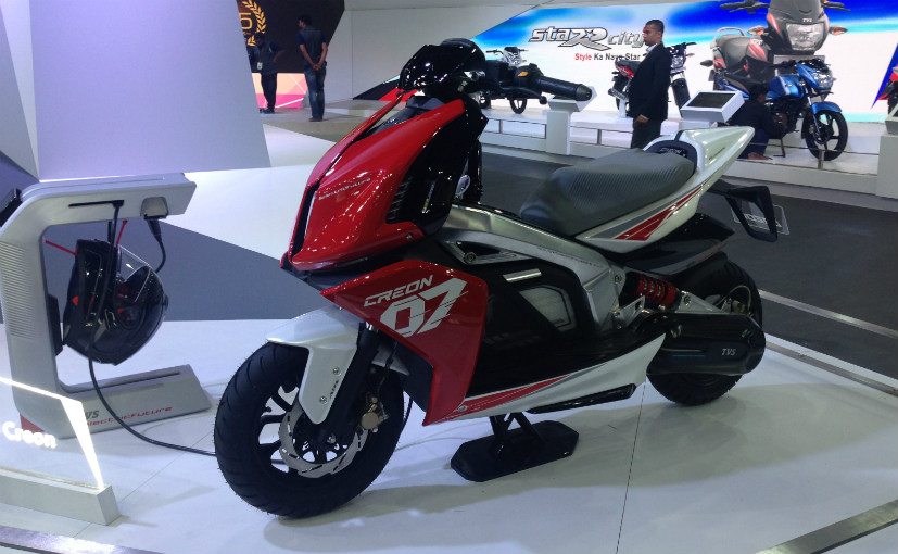 TVS Creon Electric Scooter a