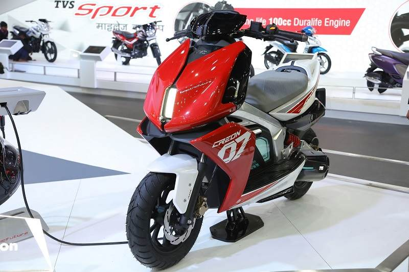 TVS Creon Electric Scooter b