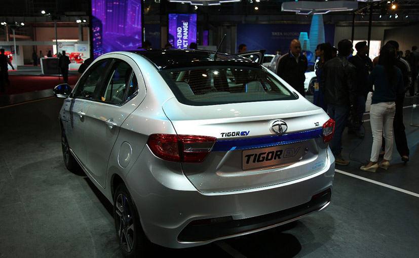 Tigor Electric Vehicle back