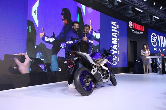 Yamaha YZF-R3 Motorcycle Launching.