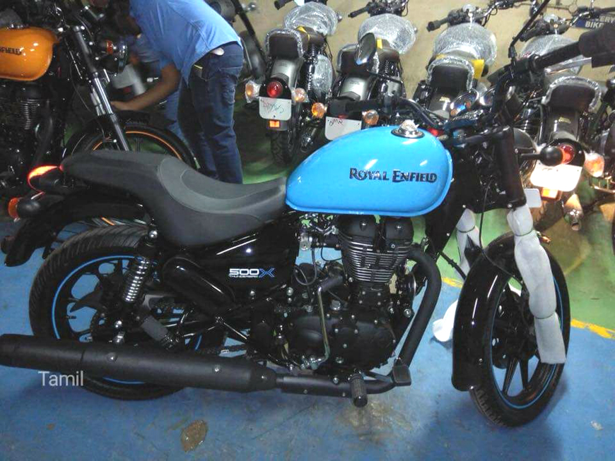 2018 Royal Enfield Thunderbird 500X
