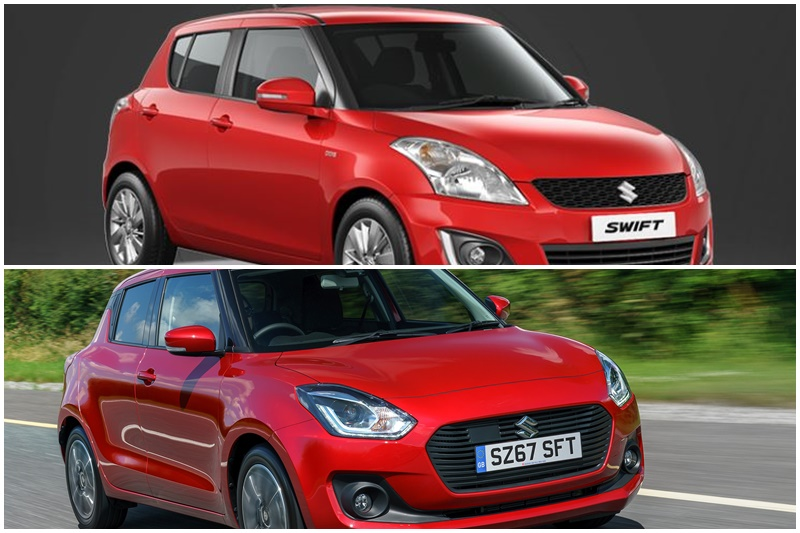 maruti-suzuki-swift-old-vs-new-design