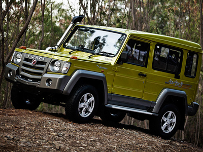 Hottest new SUVs – Force Gurkha