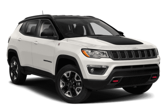 Hottest new SUVs – Jeep Compass Trailhawk
